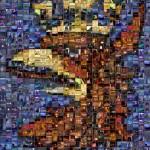 Cztery lata później (urodziny bloga) - mozaika w niskiej rozdzielczości