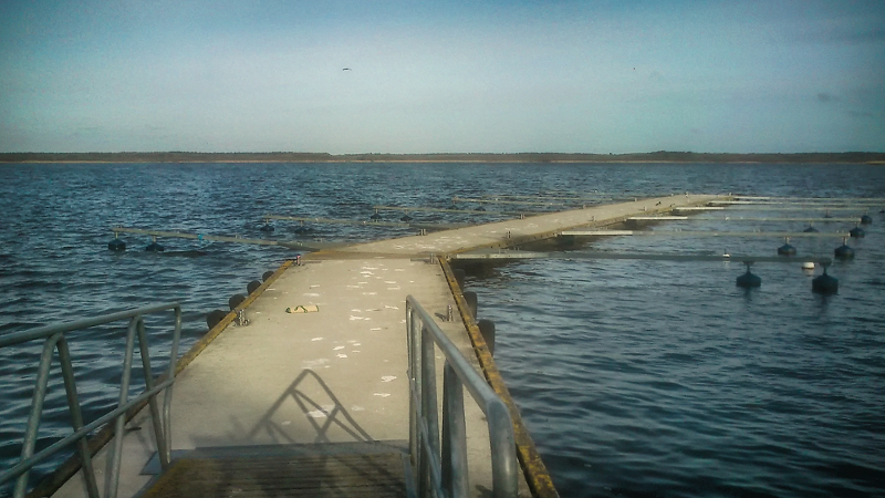 Kolejka Randowska - Jezioro Nowowarpieńskie