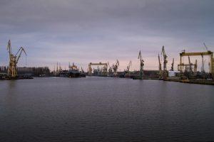 Widok z mostu na Gryfię